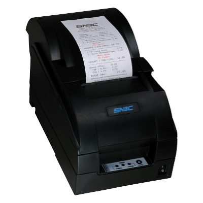 SNBC Printer BTP M280A BLACK SERIAL   with Auto Cutter and Take up
