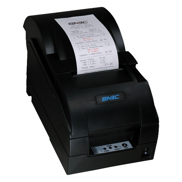 SNBC Printer BTP-M280A BLACK PARALLEL - with Auto Cutter and Take-up