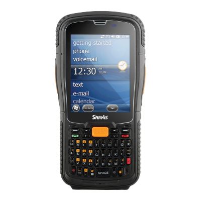 Sam4s SHR 1000 2D Rugged Handheld Computer with Wifi BT 2D Scanner