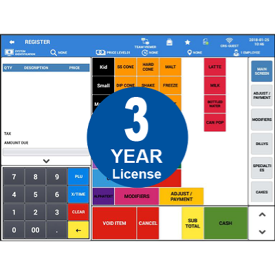 Sam4POS Android Software   3 Year License