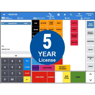Sam4POS Android Software   5 Year License