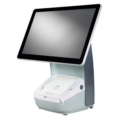 Hisense HK718 Integrated Touch Terminal Series   White Cabinet