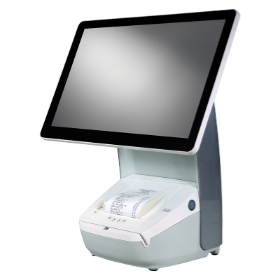 Hisense HK718 Integrated Touch Terminal Series   w/ 80mm Printer   White Cabinet