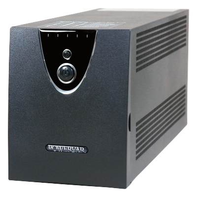 Powervar Uninterruptible Power Supply  UPM  ABCEG251 11   240VA/260A 120V Output with 4 Outlets