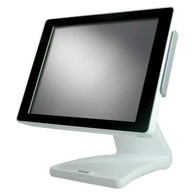 Sam4s SPT S270J Integrated Touch Terminal Series   White Cabinet  Special Order Item